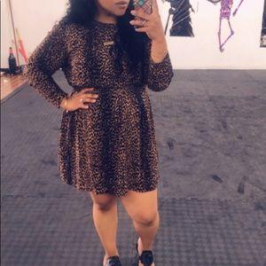 Dresses - H&M Animal Print Dress